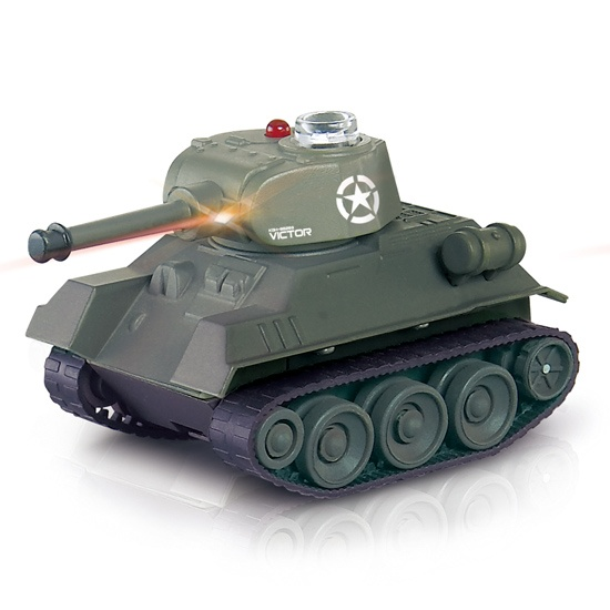 4ch remote control App emulational mini battle tank