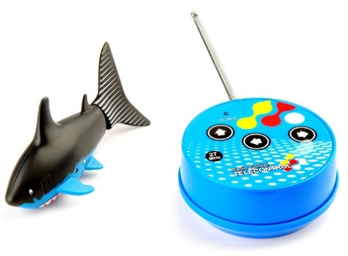 Res tf001 new mini remote control shark fish toys packed for Mini shark fish
